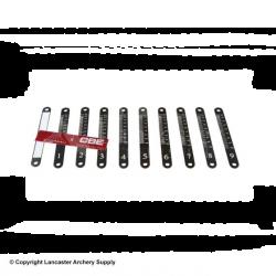 CBE Laser Engraved Aluminium Sight Scales Set*
