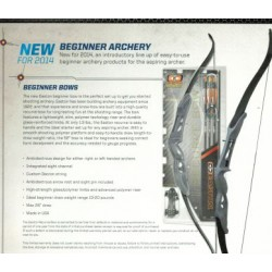 Easton Youth Recurve Bow Arch Kit Blk arrows Clam