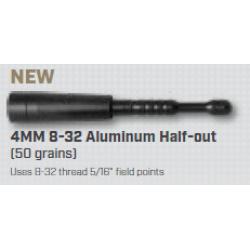 Easton Half Out Insert 4MM Aluminium 12*