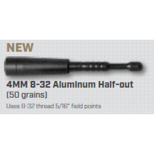 12pk 8//32 Thread Easton 4MM #3 Aluminum Outsert for Deep 6 Injexion Shafts