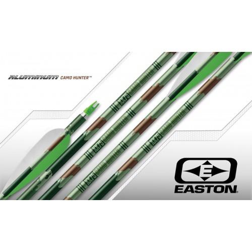 Easton XX75 Camo Hunter 2314 Arrow Shafts 1 Dozen with Nocks and Inserts
