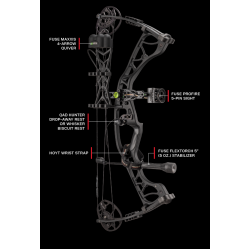 HOYT Compound Bow Torrex Hunting RTS Kit IN STOCK*