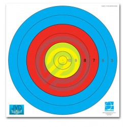 JVD Archery Target Face 80cm 6 Ring 250