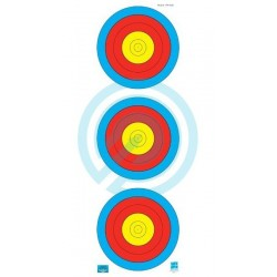 JVD Archery Target Face 40cm Traffic Light 250*