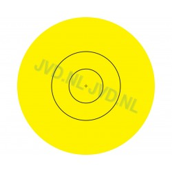 JVD Archery Target Centre 80cm Replacement Stickers 100*