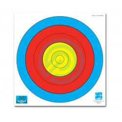 JVD Archery Target Face 80cm 5 Ring Practice Face*