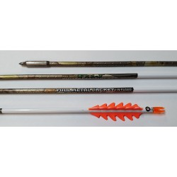 Easton FMJ 5MM Shaft 12 CLOUT ARROWS USED*