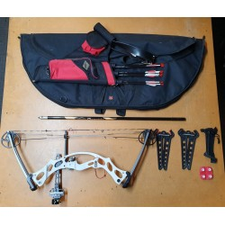Hoyt Compound Bow Ruckus Target USED KIT*