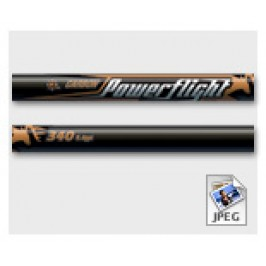 Easton Powerflight Arrow 12*